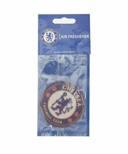 CHELSEA FC CREST AIR FRESHENER FOR CAR ACCESSORIES ROOM OFFICE NEW XMAS GIFT