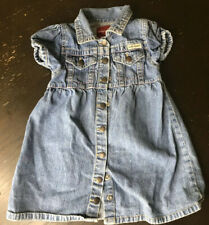 Guess Baby 24 Months Denim Dress For Girls Kids Fashion Clothing