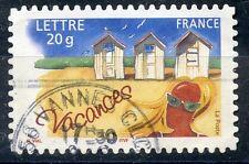 TIMBRE FRANCE OBLITERE N° 3788 ADHESIF VACANCES  Photo non contractuelle