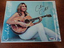 COLBIE CAILLAT -  Signed AUTHENTIC All of You 8X10 Color Photo  -  PSA DNA COA