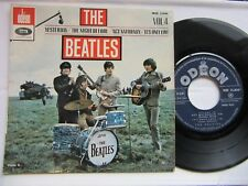 BEATLES 7'' EP--France--Export--Yesterday+ 3  Rare