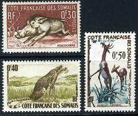 Somalia 1958 French Colony Animals Trio MNH D51  ⭐⭐⭐⭐⭐⭐