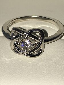 3.25mm Forever Classic 4 Prong Love Knot Ring Charles & Colvard -