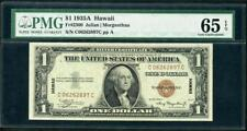 *1935A HAWAII $1.00 GRADED PMG 65 EPQ AND S/N C06262897C A BEAUTY PLEASE LQQK!!*