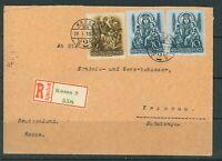 Ungarn: 1939: Einschreiben Konsularische Zweigstelle Budapest nach Troppau