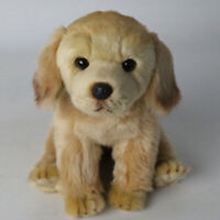 Lifelike Realistic Plush Labrador Retriever Dog Toy Doll Stuffed Model Kids Gift