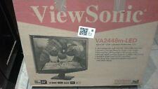 "ViewSonic VA2448M LED LCD Monitor 24"""
