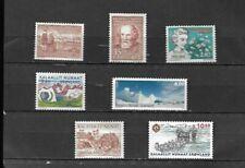 Greenland # 68,76,77,162,163,362,600, ( Scv 13.70 ) Mnh Stamps Beautiful