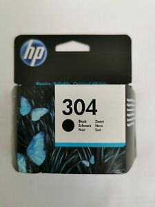 Genuine Original HP 304 Black Ink Cartridge N9K06AE, Dated March 23