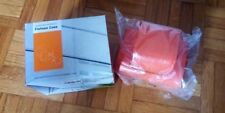 Lomo Fisheye Real Leather Orange case - custodia vera pelle color arancio