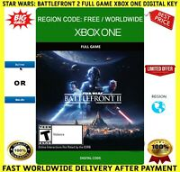 Star Wars Battlefront II 2 Xbox One Full Game Key Digital Code Region Free 🌏