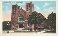 1920's The First Methodist Church in Pensacola, FL Florida PC
