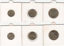 Lot de 3 monnaies de 5-10-20 Centimes Marianne lagriffoul 1994 Abeille