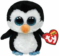WADDLES PENGUIN TY BEANIE BOOS  BRAND NEW