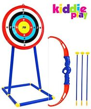 NEW Kiddie Play Toy Archery Set for Kids with Target and Bow and Arrow
