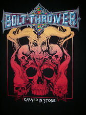 BOLT THROWER - 2015 Canada Tour Shirt L Napalm Death Asphyx Autopsy Grave
