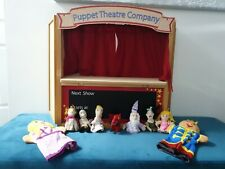 ELC Wooden Folding Puppet Theatre Company Early Learning & Finger Puppets