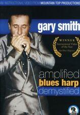 Gary Smith - Amplified Blues Harp Demystified [New DVD]