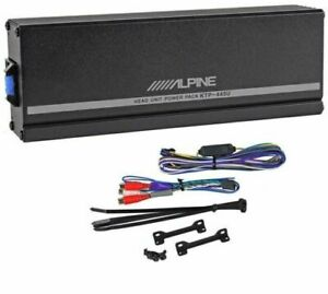 Alpine KTP-445A 4-Channel Power Pack Compact Upgrade Amplifier