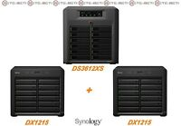 € 2762+IVA SYNOLOGY 36-Bay NAS DS3612XS + 2x DX1215 Infiniband - 1-Year Warranty