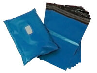 """NEW Strong METALLIC BLUE 13x19"""" Mailing Postal Postage Bags 13""""x19"""" (330x485mm)"""