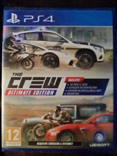 THE CREW ULTIMATE EDITION Nuevo  PS4 Conducción carreras en castellano