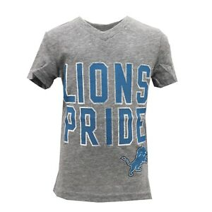 Detroit Lions Official NFL Apparel Youth Kids Girls Size T-Shirt New with Tags