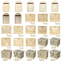 Wooden Wedding Favors Card Post Box Gift Case Ornament Birthday Party Supplies