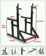 Squat rack con dip bar/ Half rack 300kg!!
