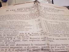epoca napoleonica 1815 austria manifesto