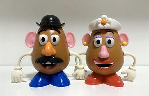 "14cm Toy Story Mr. Mrs. Potato Head Tokyo Disney Resort candy dispenser 5""1/2"