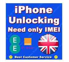 iPhone 3g 3gs 4 4s 5 ORANGE UK CLEAN IMEI Supported Factory UNLOCKING