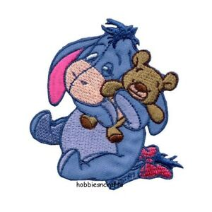 EEYORE FROM WINNIE THE POOH Disney Licenced Iron on Applique Motif Patch
