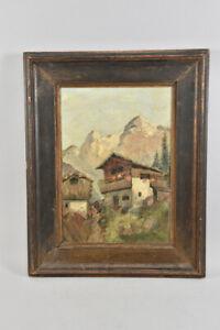 g60w15- Gemälde, Berghof