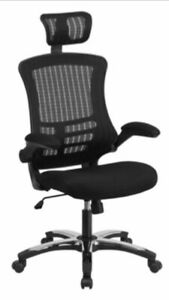 Brand New Executive High Back Mesh Office Chair With Headrest
