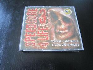 Speedcore 4 Life Volume 3 - Doppel CD 2007 Hardcore, Gabber