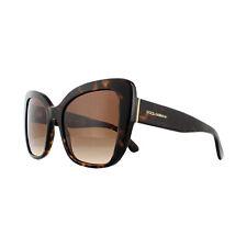Dolce & Gabbana Sonnenbrille DG4348 502/13 Havanna Braun Verlauf