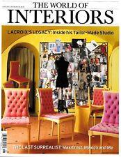 The World of Interiors June 2010 Elizabeth Garouste Mattia Bonetti Lacroix Art
