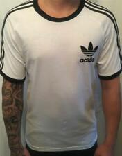adidas mens originals california tee t-shirt white new az8128  uk size ex-large