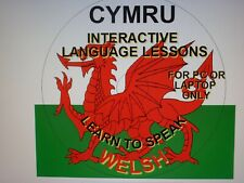 LEARN TO SPEAK WELSH INTERACTIVE DISC FOR P.C. AND LAPTOP ONLY