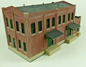 Built N Scale Walthers Cornerstone Modulars Freelanced Factory Building