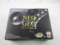 Neogeo Stick 2 with box Playstation 3 Japan Ver