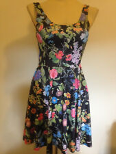 Black Milk Clothing Bloom Loom Scoop Skater Dress Size S Blackmilk