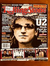 ROLLING STONE AUSTRALIA FEBRUARY 2005 U2 BONO MICK JAGGER JAMIE FOXX!