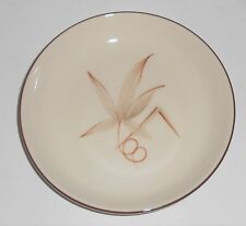 Winfield China Pottery Passion Flower Bread Plate