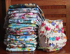 Lot Washable Baby Pocket One Size Nappies Cloth Reusable Diapers Standard Covers