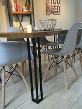 Metal Table Legs (Black) (Upcycling) Hairpin Legs.