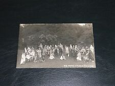 ORIGINAL REAL PHOTO POSTCARD - PICKERING PAGEANT, c1911-12, No.8 OPENING OF FAIR