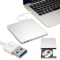 USB 3.0 External CD/DVD RW Drive Burner Writer Reader for Win 10 7 PC Laptop Mac