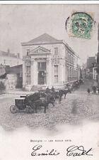 BOURGES les beaux-arts attelages timbrée 1906